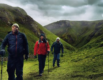 Image of Black Men Walking